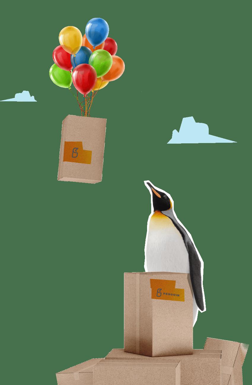 penguin baloon